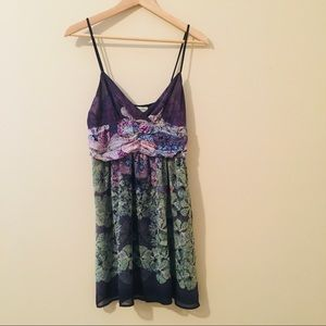 Urban Outfitters Dresses - Staring At Stars UO   Floral Surplice Mini Dress